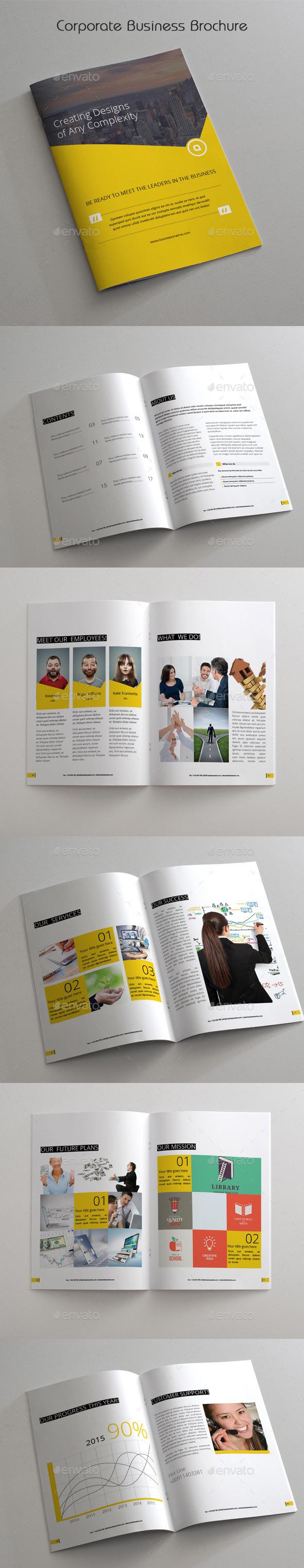 GraphicRiver Corporate Business Brochure 11956611
