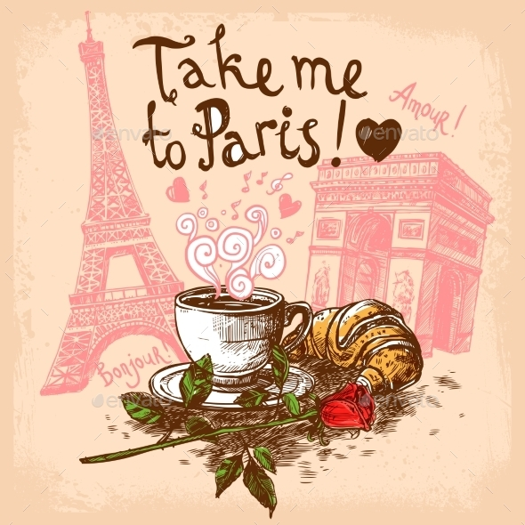 GraphicRiver Take Me to Paris Concept 11956618