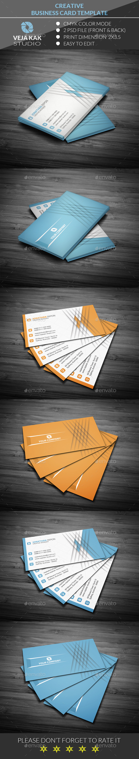 GraphicRiver Creative Business Card 11956634