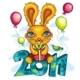 Funny cartoon bunny - GraphicRiver Item for Sale