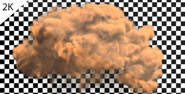 [VideoHive 1200737] Dirt Explosion 2K Version 2 | Motion Graphics