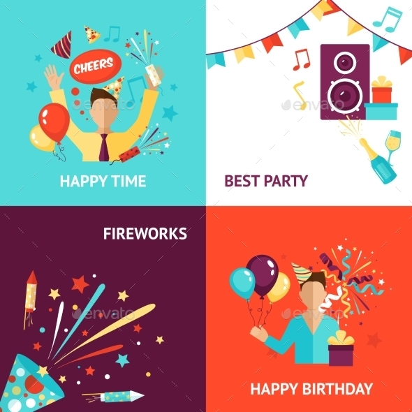 GraphicRiver Party Design Concept 11956946