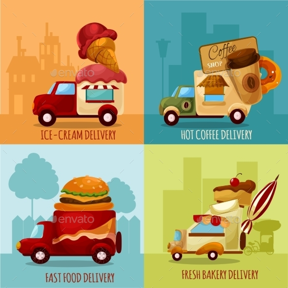 GraphicRiver Mobile Food Delivery 11957079