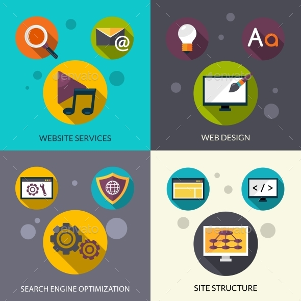 GraphicRiver Web Design Set 11957120