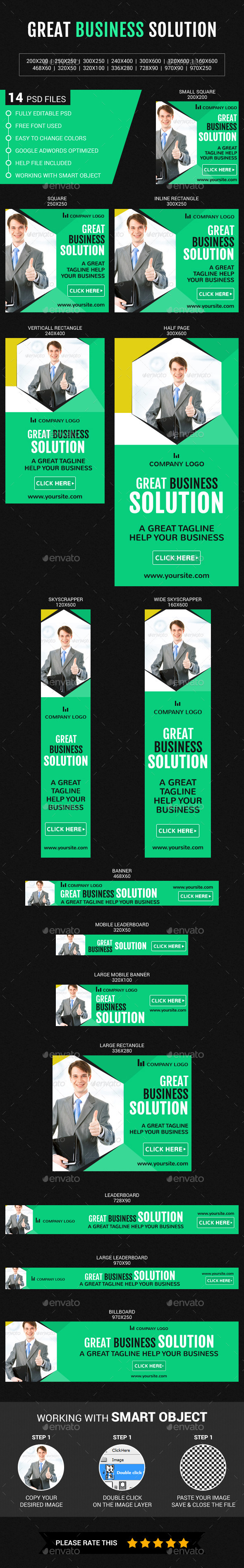 GraphicRiver Great Business Solution 11957228