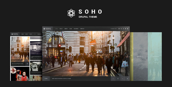 preview.  large preview - SOHO - Fullscreen Photo & Video Drupal Theme