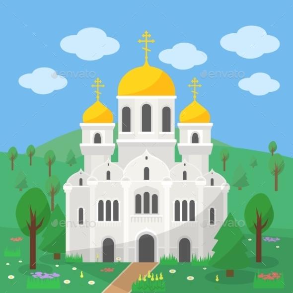 GraphicRiver Orthodox Church 11958538