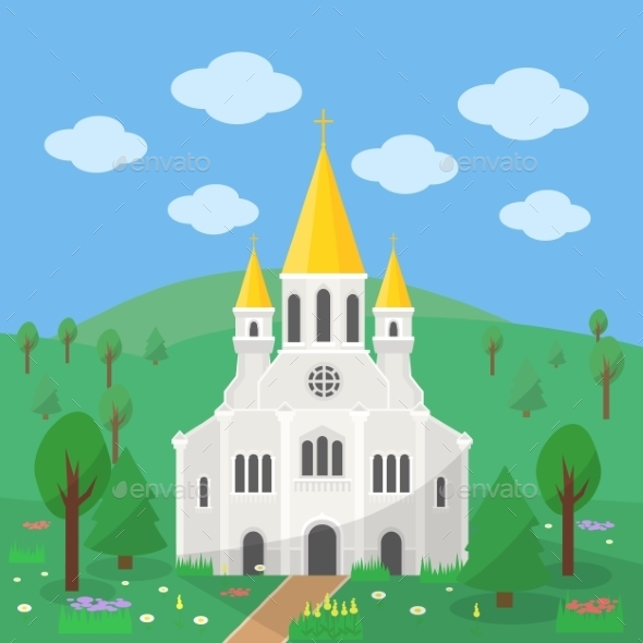 GraphicRiver Catholic Church 11958539