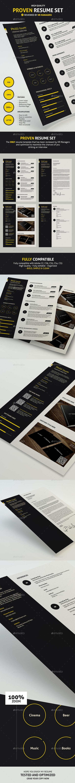 GraphicRiver Proven Resume CV 11958792