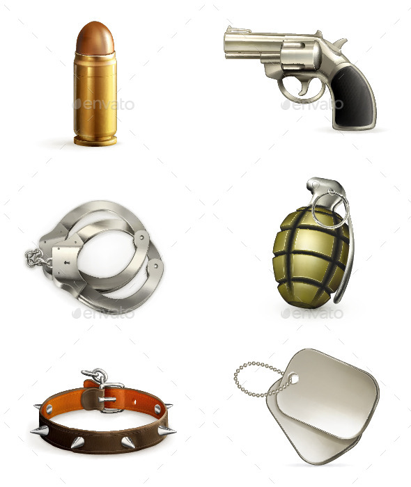 GraphicRiver Armory Icons 11958931