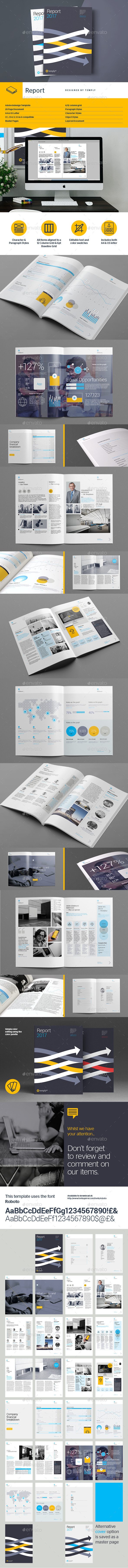 GraphicRiver Report Template 11959254