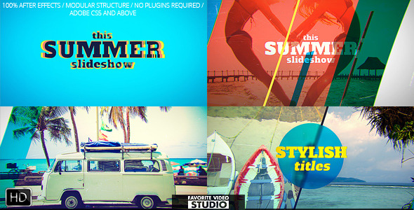 Videohive Favorite Summer Slideshow 11959638