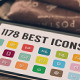 1176 Best Icons Set