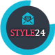 Style24 - Clean & Cool Responsive Email Template