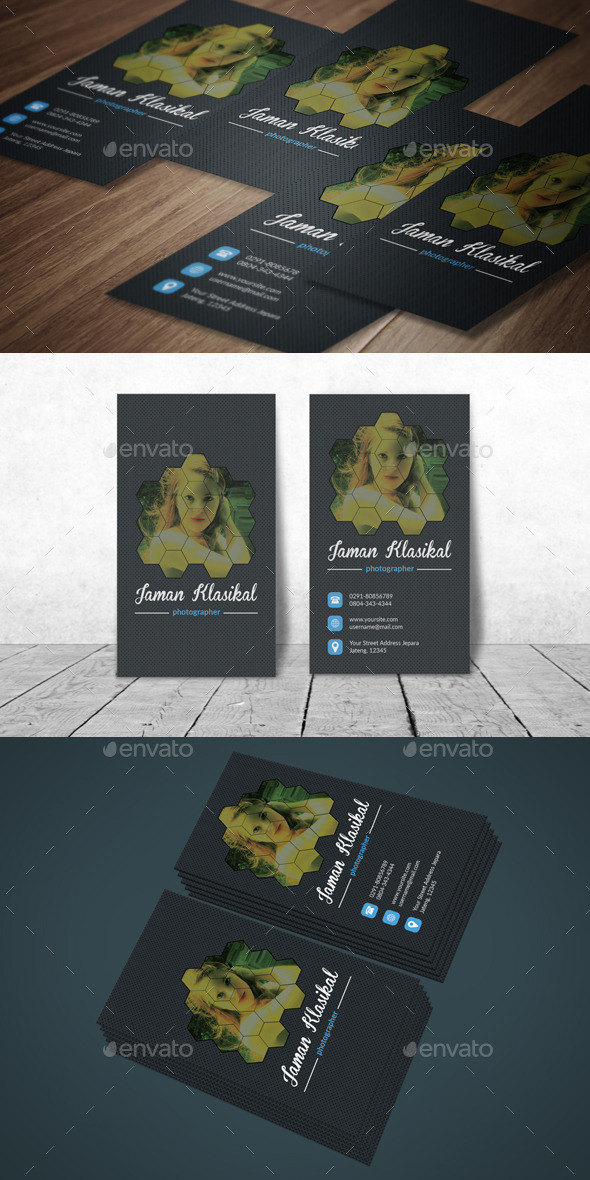 GraphicRiver Creative Photography Business Card 11964751