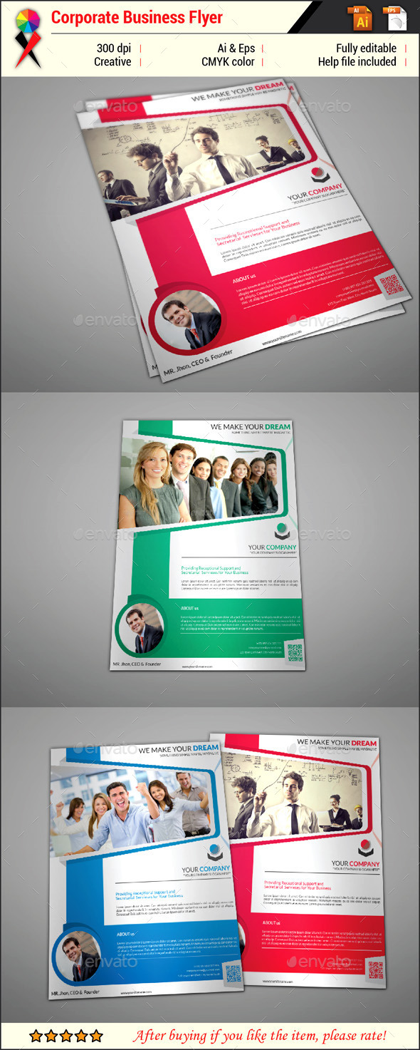 GraphicRiver Creative Corporate Business Flyer 11965037