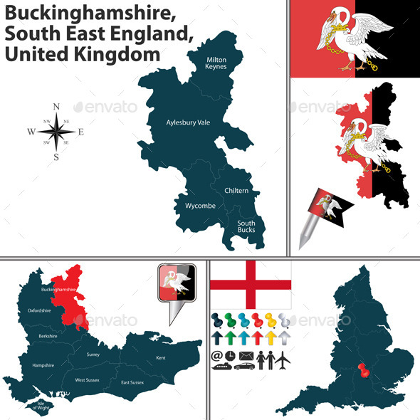GraphicRiver Buckinghamshire South East England UK 11965476