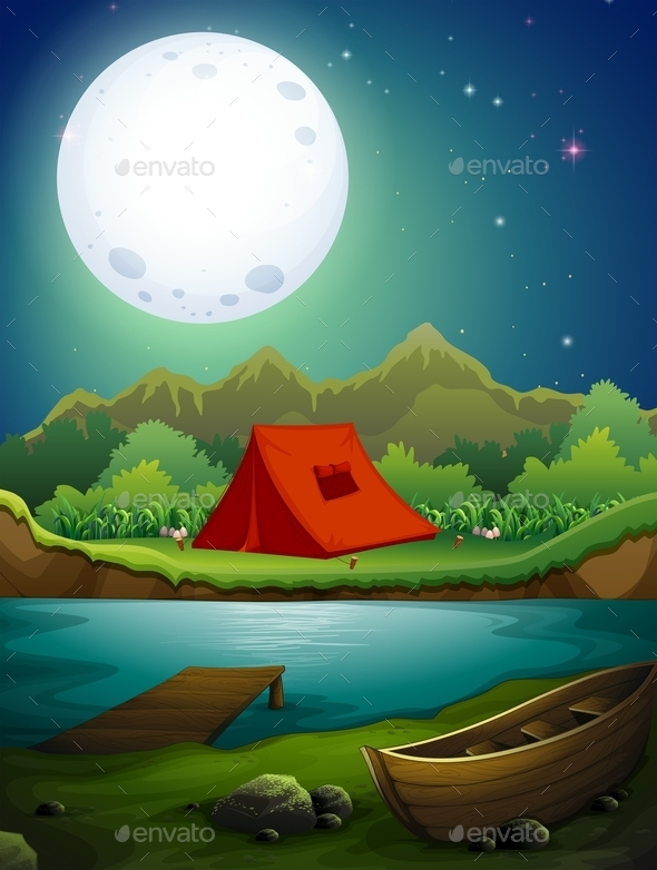 GraphicRiver Camping Ground 11966424