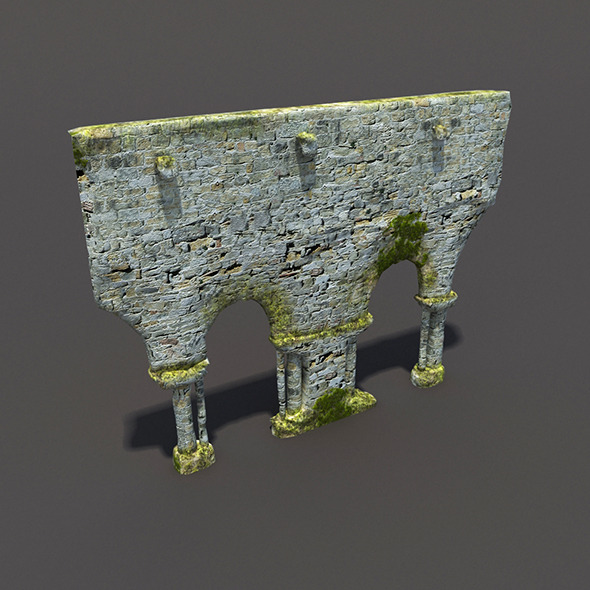 English Castle Ruin #4 - 3DOcean Item for Sale