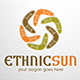 Ethnic Sun Logo Template - GraphicRiver Item for Sale