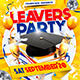 Leavers Party Flyer Template  - GraphicRiver Item for Sale