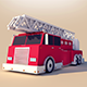 Fire Truck - 3DOcean Item for Sale