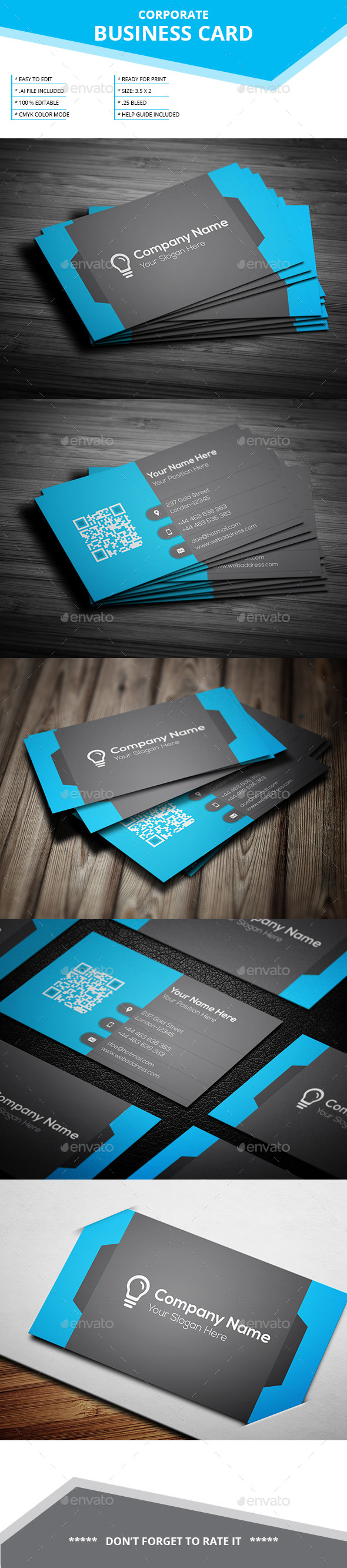GraphicRiver Corporate Business Card 11963697