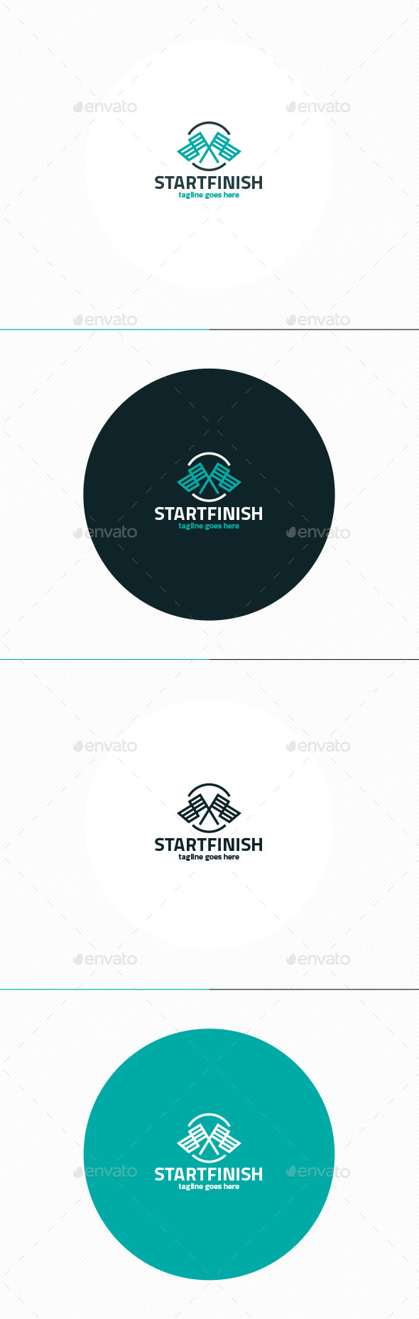 GraphicRiver Start Finish Logo 11967849