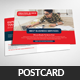 Web Design Company Postcard Psd Template - GraphicRiver Item for Sale