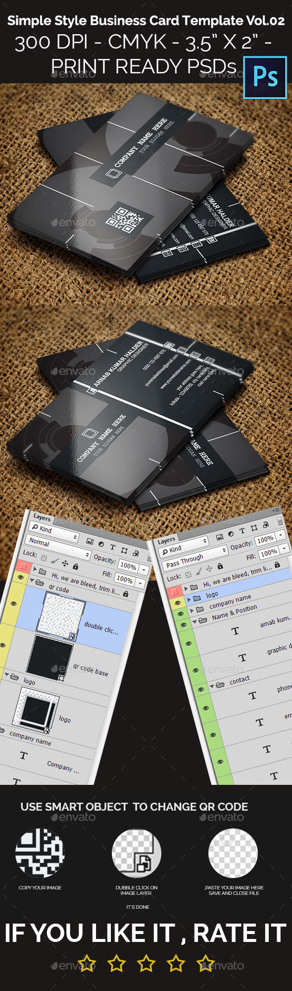 GraphicRiver Simple Style Business Card Vol.02 11963451