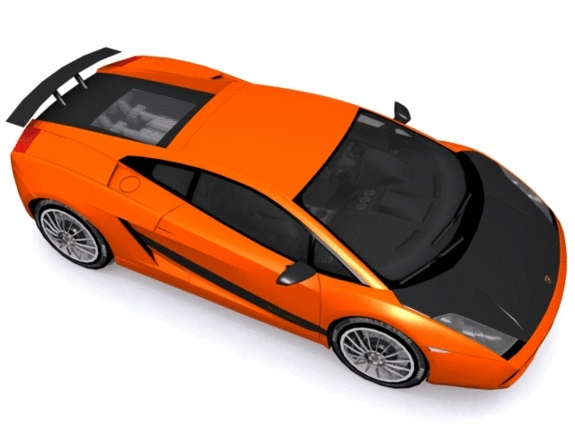 Lamborghini Gallardo Superleggera - 3DOcean Item for Sale