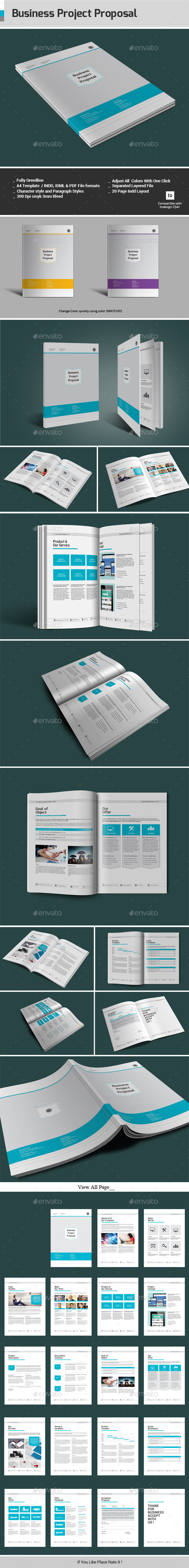 GraphicRiver Business Project Proposal 11968422