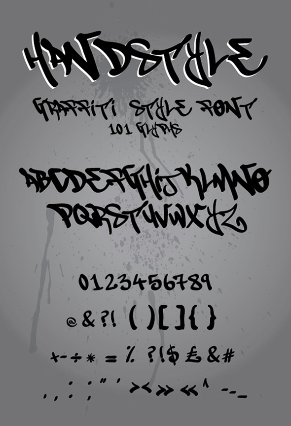 GraphicRiver Handstyle Graffiti 11818273