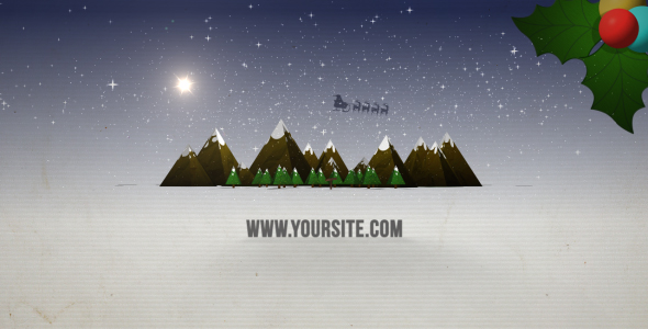 After Effects Project - VideoHive PAPERCRAFT CHRISTMAS 146405
