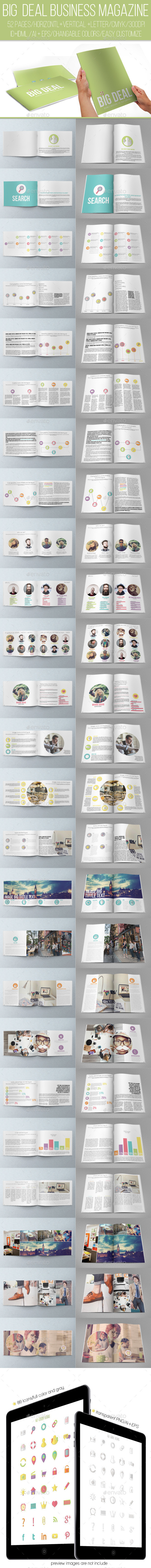 GraphicRiver Big Deal Business Magazine 11968924