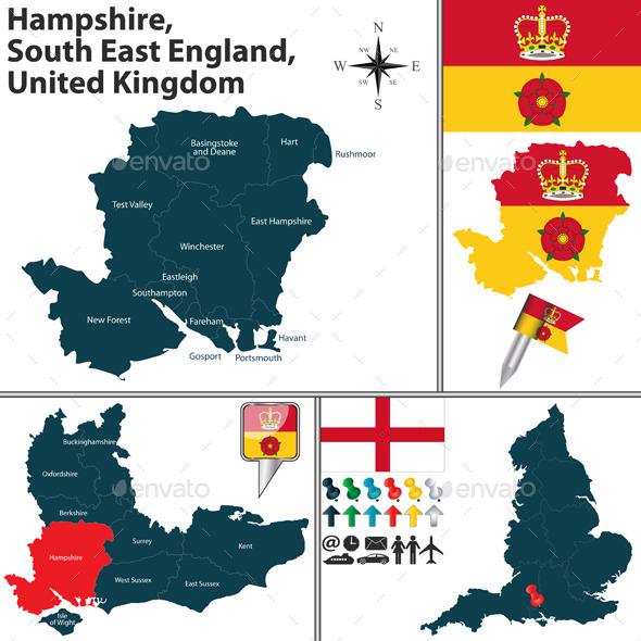 GraphicRiver Hampshire South East England UK 11968836