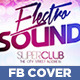 Electro Sound Facebook Timeline Cover - GraphicRiver Item for Sale