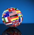 International Business Globe World Flags Concept - PhotoDune Item for Sale