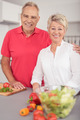 Cheerful Matured Couple Smiling at the Camera - PhotoDune Item for Sale