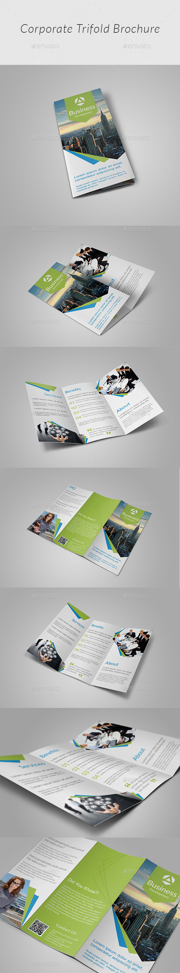 GraphicRiver Creative Tri-fold Brochure 11969646
