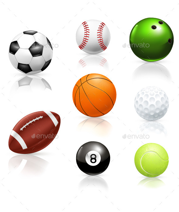 GraphicRiver Sport Balls Icons 11969662
