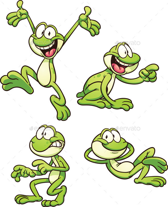 GraphicRiver Cartoon Frog 11970970