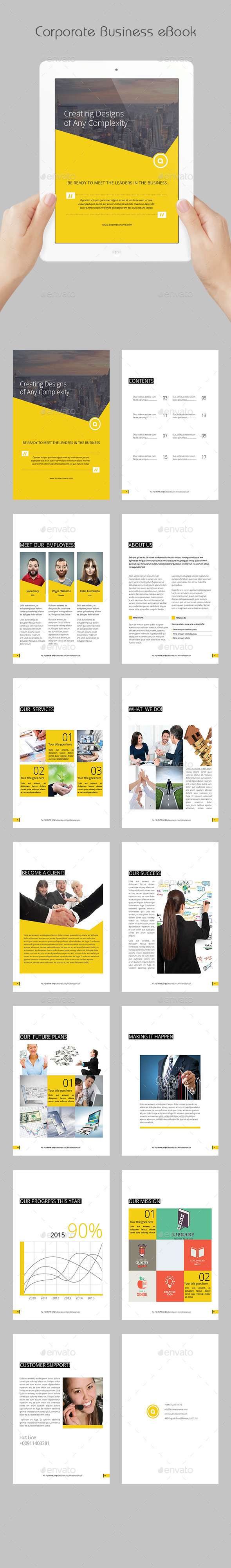 GraphicRiver Corporate Business eBook 11972523