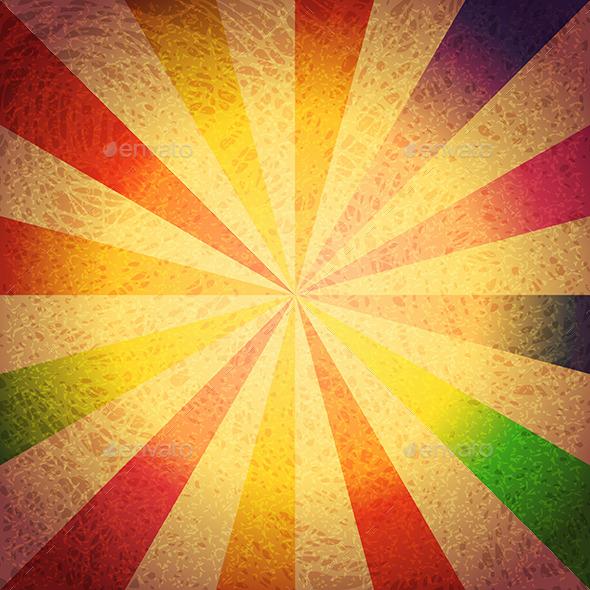 GraphicRiver Vintage Striped Grunge Background 11972566