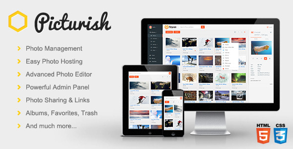 Picturish – Image hosting, editing and sharing (Images and Media) Download