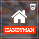 Handyman - Job Board HTML Template - ThemeForest Item for Sale