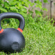 heavy competition  kettlebell on grass - PhotoDune Item for Sale