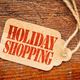 Holiday shopping  sign a paper price tag - PhotoDune Item for Sale