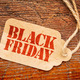 Black Friday sign on price tag - PhotoDune Item for Sale