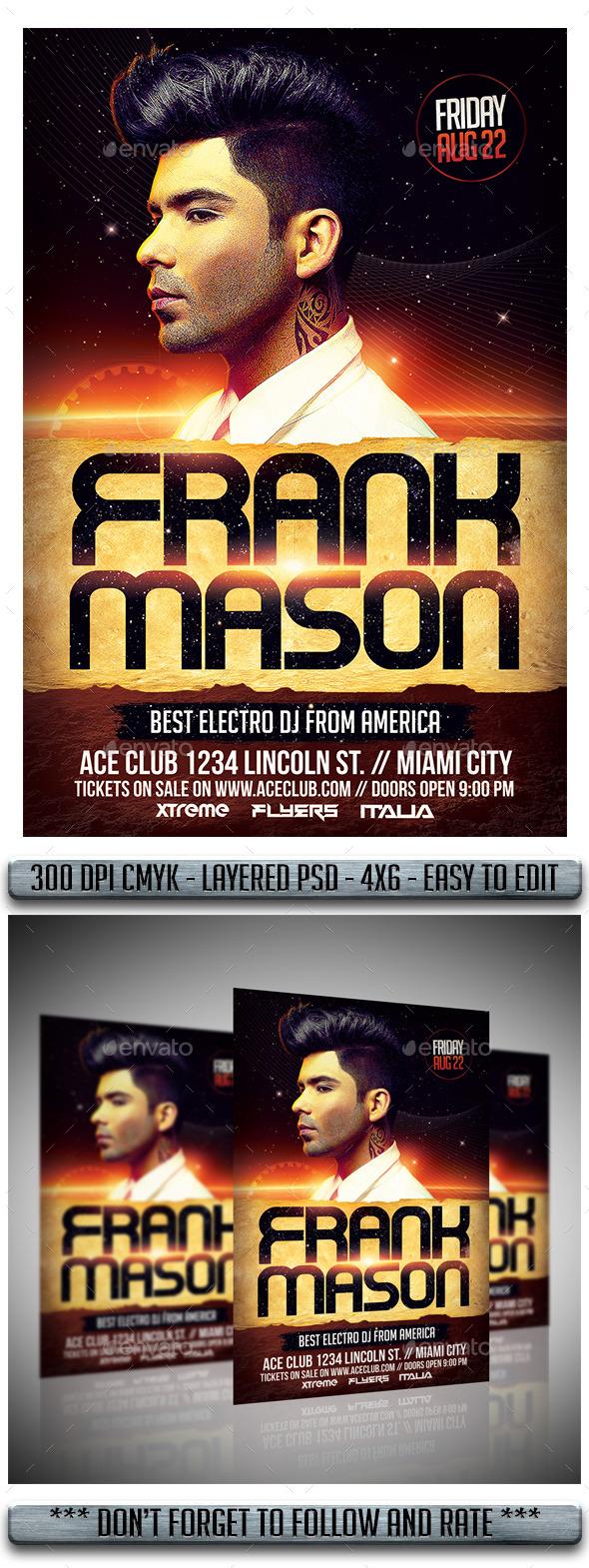 GraphicRiver DJ Flyer 11974339